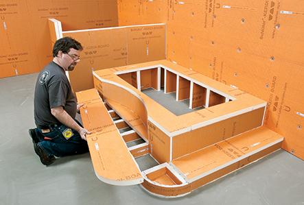 Konstrukční desky do koupelny