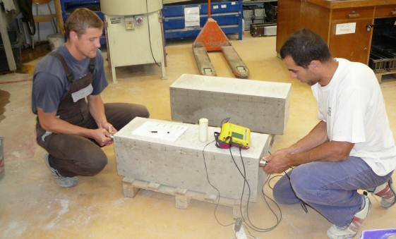 Nedestruktivní zkoušky betonu
