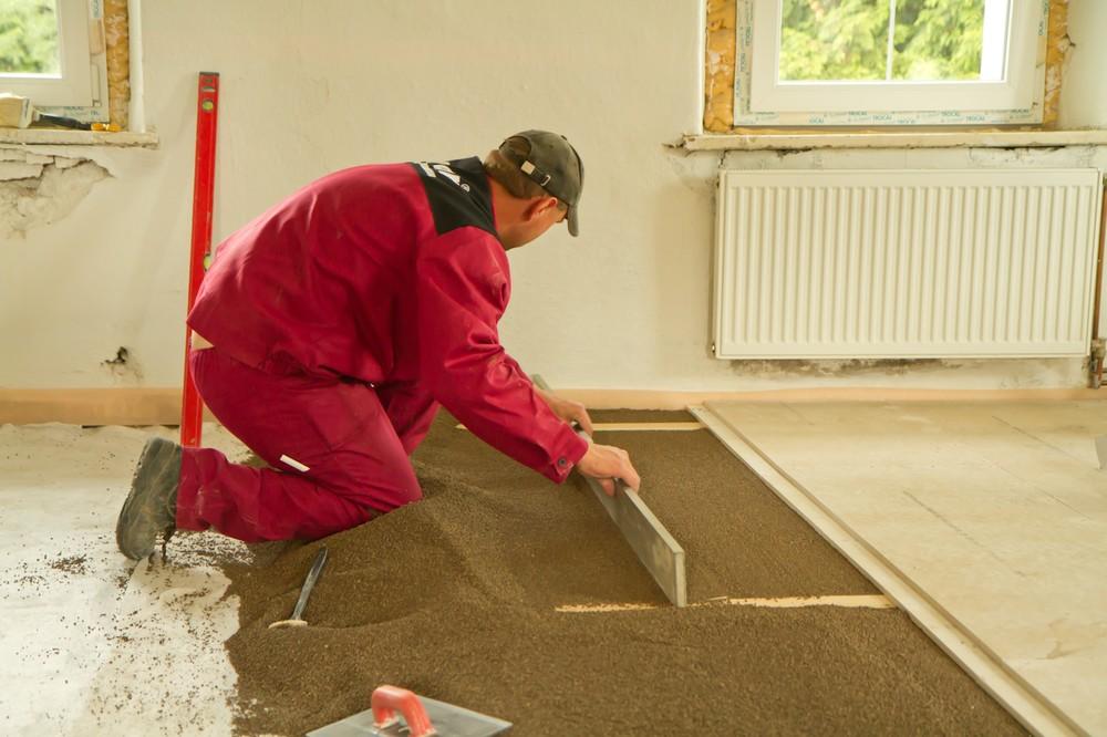 Cena vyrovnání podlahy