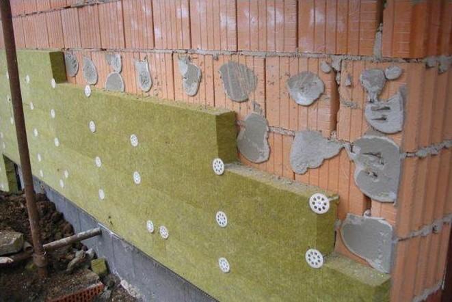 Zateplení fasády vatou