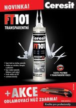 Ceresit FT 101 Transparent odlamovac� n� zdarma