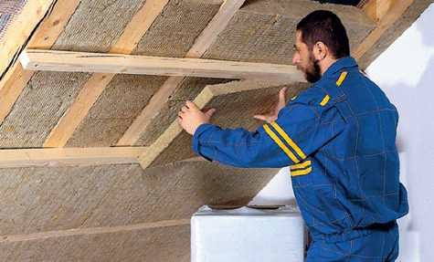 Zateplení střechy isover