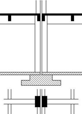 Dilatační spára v betonové podlaze