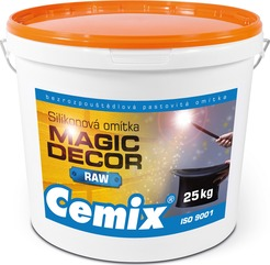 Kreativn� om�tka Magic Decor Raw s nejvy��� zrnitost� do 2,5 mm