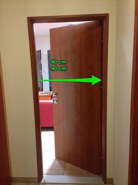 Jak poznat šířku dveří