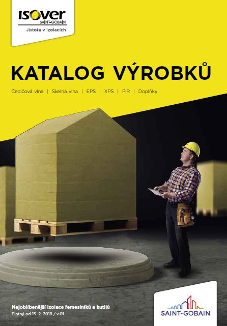 ISOVER vydal nový Katalog výrobků