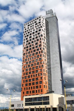 AZ Tower in Brno, Czech Republic. Source: Wikipedia