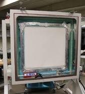 Obr. 5. Testované vzorky vklimatické komoře – (c)keramické cihly Heluz svápennou omítkou (foto Jakub Diviš)