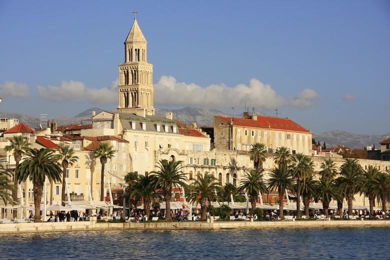 Diokleciánův palác ve Splitu (zdroj: travelmag.cz)
